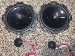 Rockford fosgate Punch P152-S car audio speakers for Sale in Aurora, CO