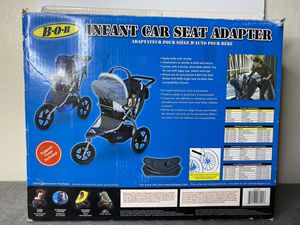 Bob stroller infant car seat adapter for Sale in Sacramento, CA