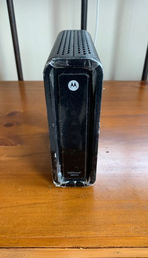 Motorola surfboard sb6121 for Sale in Gig Harbor, WA