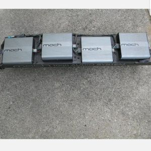 Mach 1000 Watt Amp Rack With 4 Amps for Sale in Jupiter, FL