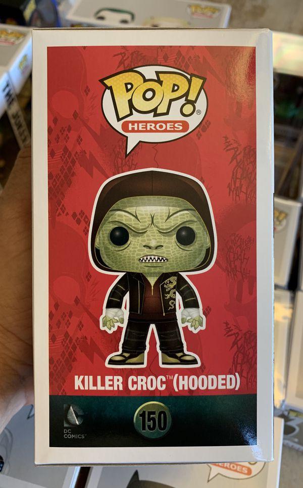 Funko Pop! Suicide Squad Walmart Exclusive Hooded Killer Croc