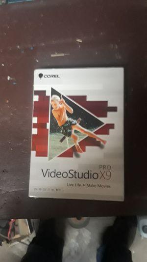 Video studio pro 9 for Sale in Seattle, WA