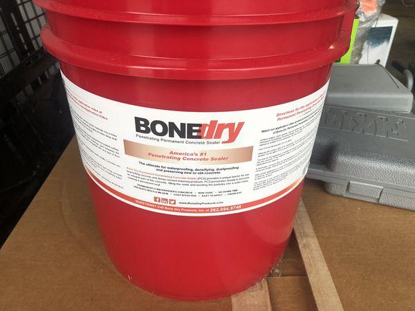 Bone dry concrete sealer