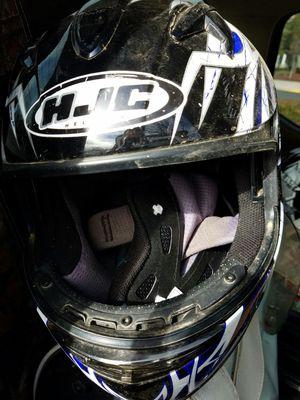 2 hjc motorcycle helmets for Sale in Sanger, CA