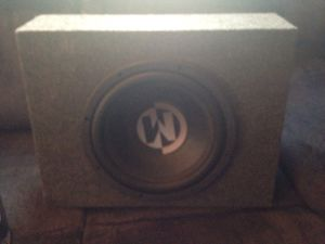 Memphis car audio speakers 12inch both for Sale in Atwater, CA