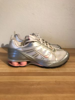 Nike Shox 312522-161 silver pink women's running sneakers shoes size 9 for Sale in Tempe, AZ