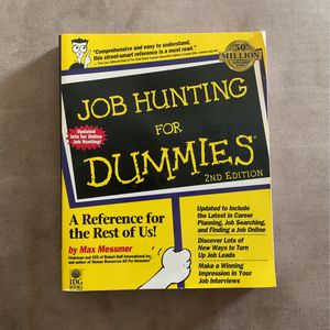 Job Hunting For Dummies for Sale in Tampa, FL