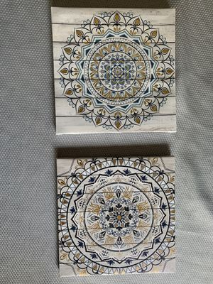 Mandala Canvas (Small) $5 for Sale in Kissimmee, FL