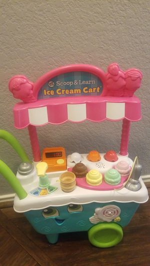 Leap frog, scoop and learn ice cream cart for Sale in Saginaw, TX