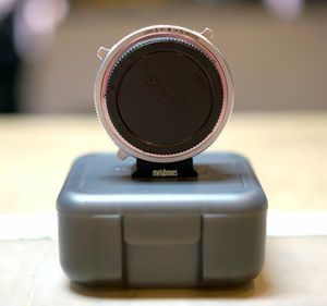 MetabonesCanon EF/EF-S Lens to Sony E Mount T CINE Smart Adapter for Sale in New York, NY