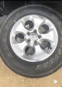 Jeep Wrangler wheels for Sale in Lorton,  VA