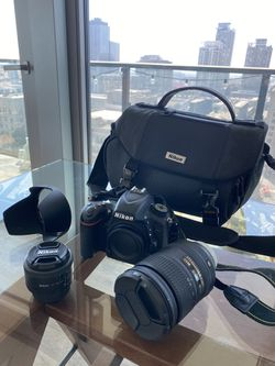 Nikon D750 DSLR + Lenses + Bag for Sale in Los Angeles,  CA