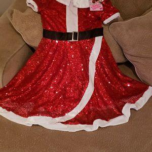 New Jojo Girls Santa Dress for Sale in Sunnyvale, CA