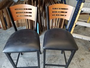 Set of barstools in perfect condition for Sale in Arlington, TX