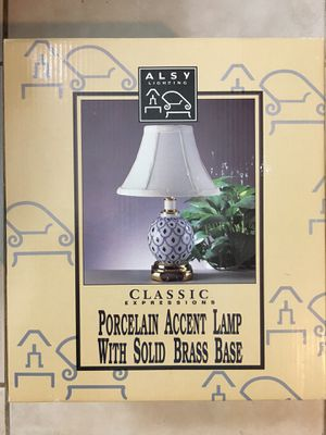 Porcelain lamp with shade NIB for Sale in Coral Springs, FL