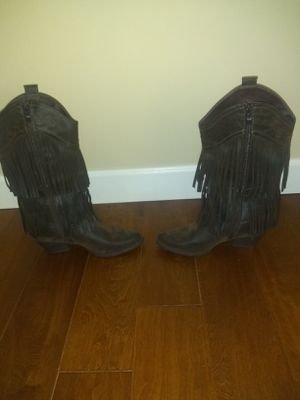 Women's brown cowgirl boots for Sale in Winston, GA