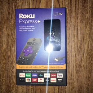Roku Express + I have 5 of these available for Sale in Toledo, OH