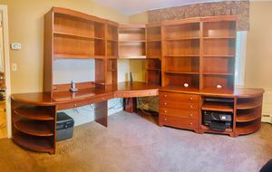 Ethan Allen Modular 10 pieces office system. for Sale in Foxborough, MA