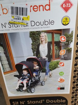 Double stroller for toddler and infants for Sale in Plano, TX
