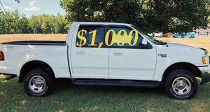 ✅$1,OOO For sale URGENT 2002 Ford F150 Clean title. Everything works well inside and out ,Engine V8, Runs And Drives Great With No Issues! ✅ for Sale in St. Louis, MO