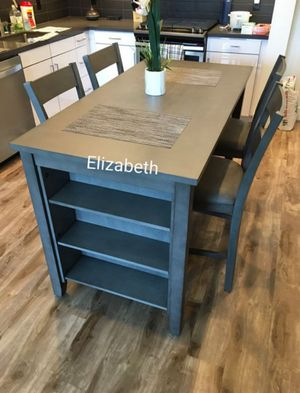 Grey counter height dining table set for Sale in Norwalk, CA
