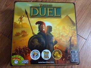 7 Wonders Duel Board Game for Sale in Phoenix, AZ