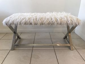 Fuzzy Bench for Sale in Los Angeles, CA