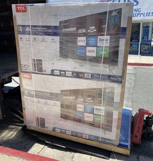 "65"" TCL roku smart 4K led uhd hdr tv for Sale in Las Vegas, NV"
