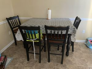 Kitchen table w/ 4 chairs for Sale in Bunker Hill, WV