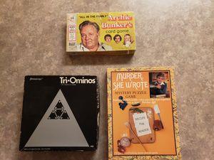 Vintage Games for Sale in Vermilion, OH