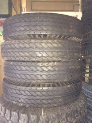 Great Deal! 4 New Trailer Tires ST 225/90/16 Mounted/Balanced for Sale in St. Louis, MO
