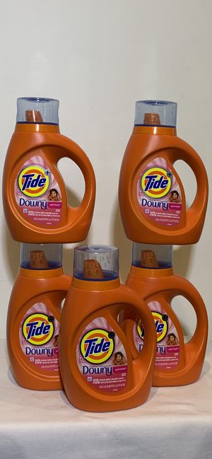 Tide detergent with downy 37 oz. ————- 5 for $20 for Sale in Hawthorne, CA