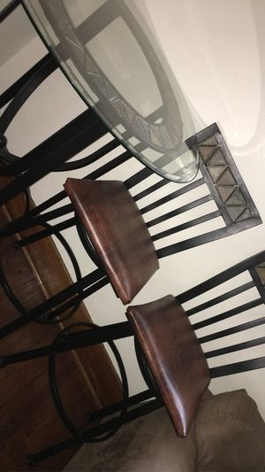 Revamped bar table / 2 chairs for Sale in Fort Wayne, IN
