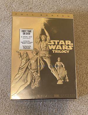 Star Wars Original Trilogy + Bonus Materials (4 CDs) for Sale in Burlington, CT