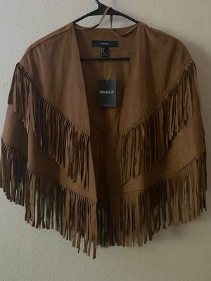 Fringe western poncho for Sale in Beaverton, OR