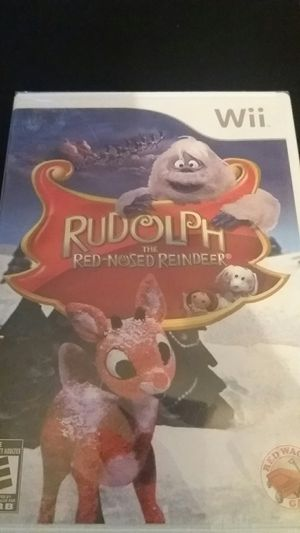 RUDOLPH The RED-NOSED REINDEER (Nintendo Wii + Wii U) NEW! for Sale in Lewisville, TX