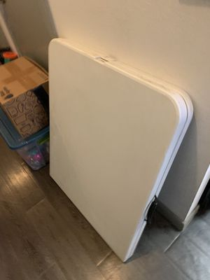 Large folding table for Sale in Haslet, TX
