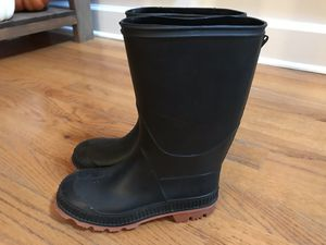 Boys size 1 Rain boots for Sale in Kennesaw, GA
