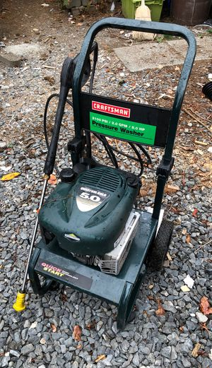 2100 psi craftsman pressure washer 5hp Briggs needs tip for Sale in Seattle, WA