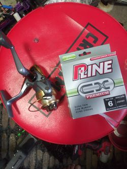 Fishing Reel And Fishing Line for Sale in Las Vegas,  NV