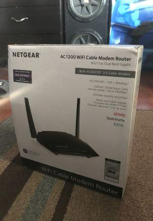 Netgear Wifi modem router for Sale in Los Gatos, CA