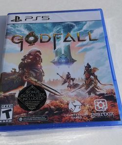 GODFALL PS5 Game Brand New Never Opened Factory Sealed In Plastic See Photos/Description for Sale in Modesto,  CA
