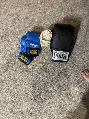 Everlast punch set gloves included for Sale in Bridgeview, IL