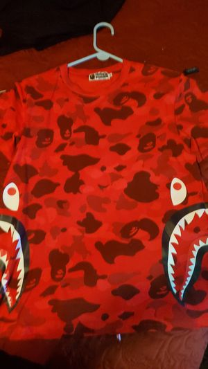 Bape Red Camo Shirt for Sale in Irving, TX