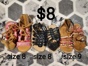 Size 8 toddler shoes for Sale in Fresno, CA