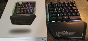 Gaming pad, small form for PC with RGB for Sale in Jacksonville, NC