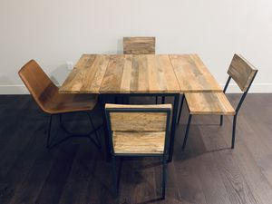 Contemporary dining set and sofa-bed for Sale in San Jose, CA