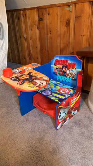 Kids desk paw patrol for Sale in Cheektowaga, NY