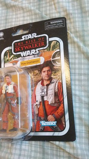 Star Wars The Vintage Collection Poe Dameron Toy Action Figure for Sale in Yakima, WA