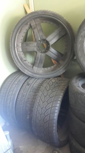 """26"""" rims and tires for Sale in Phoenix, AZ"""